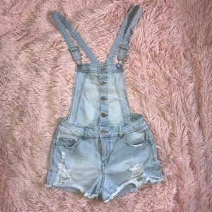Ladies Overall Shorts